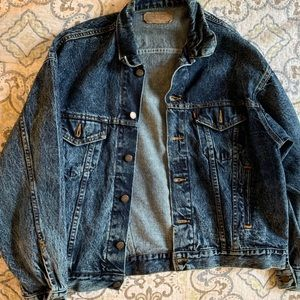 Levi oversized vintage denim jacket